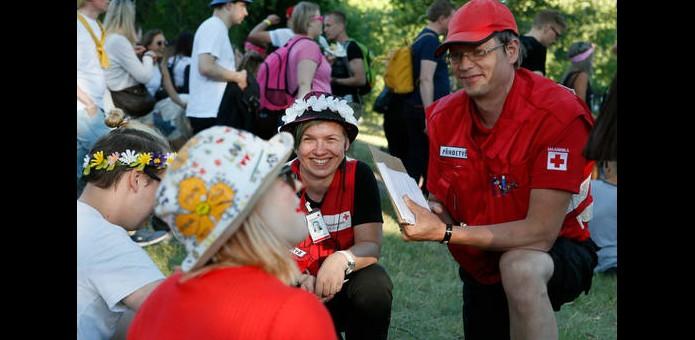 Pasi Leino / Suomen Punainen Risti