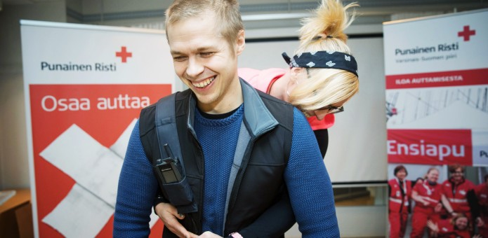 Jussi Vierimaa / Suomen Punainen Risti